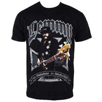 Herren T-Shirt Motörhead - Lemmy Iron Cross 49 Prozent - ROCK OFF - LEMTS01MB