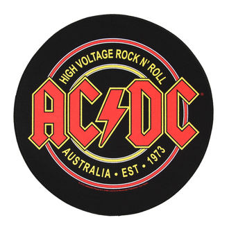 Aufnäher  groß AC/DC - High Voltage Rock n Roll - RAZAMATAZ, RAZAMATAZ, AC-DC