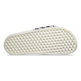 Damen Zehentrenner VANS- Slide-On (Checkerboard) - White/Black - V4LG27K