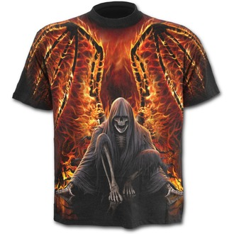 Herren T-Shirt SPIRAL - Flaming Death - W021M105