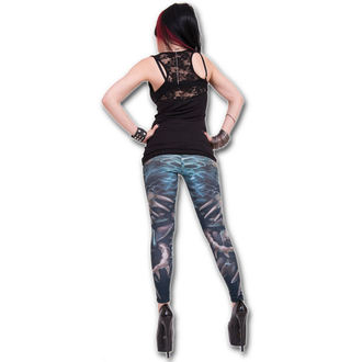 Damen Leggings  SPIRAL - Flaming Spine - W016G456