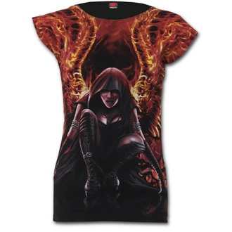Damen T-Shirt SPIRAL - Flaming Angel - W020F733