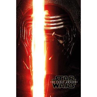 Poster Star Wars - Episode VII - Kylo Ren Teaser - PYRAMID POSTERS - PP33804