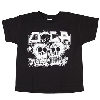 T-Shirt Kinder Doga - Black - D007