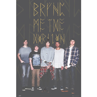 Poster Bring Me The Horizon - Group Black - LP1951