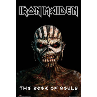Poster Iron Maiden - The Book Of Souls - GB posters - LP1992