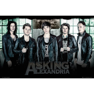 Poster Asking Alexandria - Window - GB posters - LP1997