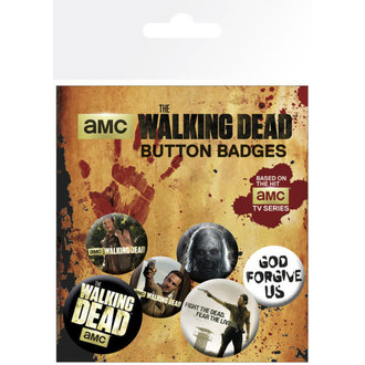 Button The Walking Dead - GB Posters - BP0473