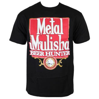 T-SHIRT METAL MULISHA BEER HUNTER BLK-M