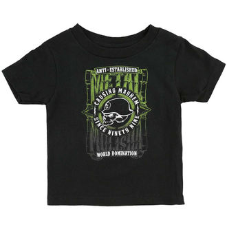 T-Shirt Kinder METAL MULISHA - WEST - BLK_SP6M18000.01
