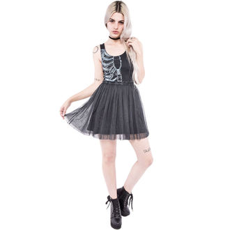 Frauen Kleid IRON FIST - Wishbone - Black - IFW004289
