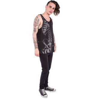 Männer Tank Top/Shirt IRON FIST - Wishbone - Graphic - Black - IFM004035