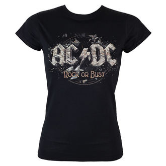 Damen T-Shirt  AC/DC - Rock Or Bust - LOW FREQUENCY - ACGS05003
