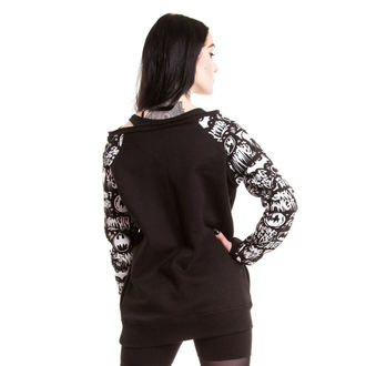 Damen Hoodie POIZEN INDUSTRIES - Graffiti - Batman - Black - POI031