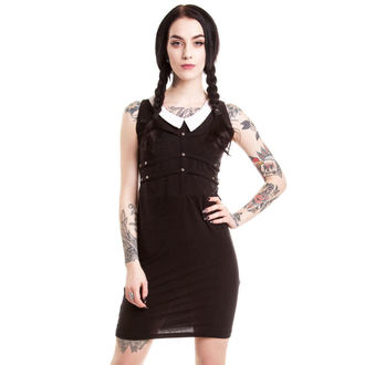 Frauen Kleid HEARTLESS - Wednesday - Black - POI052