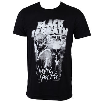 T-Shirt Männer  Black Sabbath - Never Say Die - ROCK OFF - BSTS19MB
