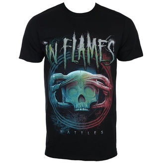 Herren T-Shirt Metal In Flames - Battles Circle - ROCK OFF, ROCK OFF, In Flames