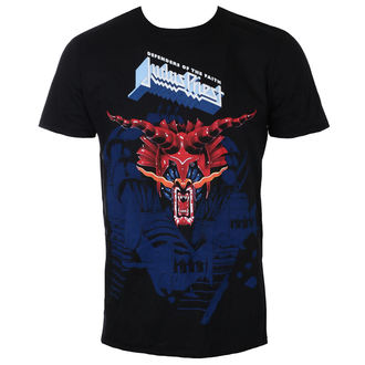 Herren T-Shirt Metal Judas Priest - Defenders Blue - ROCK OFF - JPTEE13MB