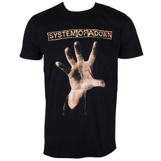 T-Shirt Männer  System Of A Down - Hand - ROCK OFF - SOADTS05MB