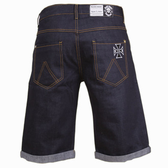Männer Shorts BLACK HEART - Cross - Denim - BH161