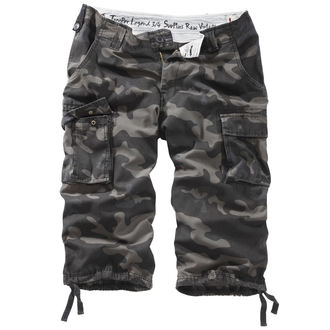 Männer 3/4 Shorts SURPLUS - TROOPER LEGEND - BLACK CAMO, SURPLUS