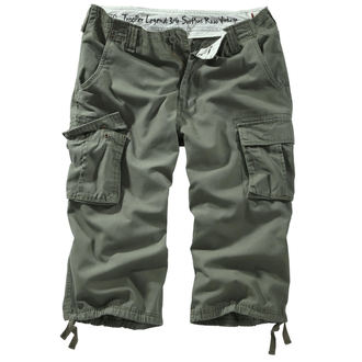 Männer 3/4 Shorts SURPLUS - TROOPER LEGEND - OLIV GEWAS, SURPLUS