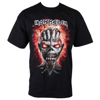 T-Shirt Männer  Iron Maiden - Eddie - Exploding Head - BLK - ROCK OFF, ROCK OFF, Iron Maiden