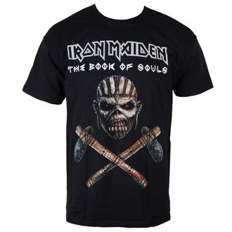 T-Shirt Männer  Iron Maiden - Axe - BLK - ROCK OFF, ROCK OFF, Iron Maiden