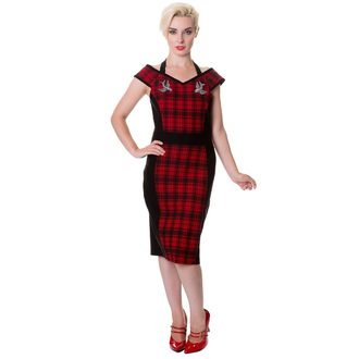 Damen Kleid BANNED - DBN5024R/RED/TRT