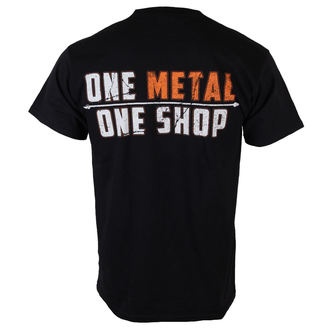 Herren T-Shirt  MetalShop - Black - MS015