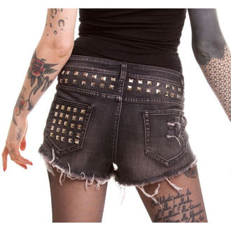 Shorts Ladies POIZEN INDUSTRIES - Razer - Black - POI119
