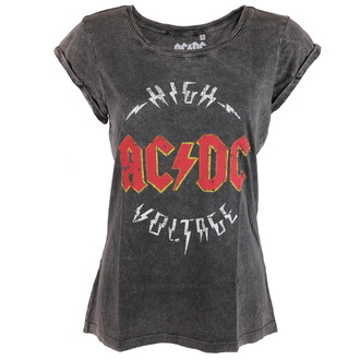 Damen T-Shirt  AC/DC - Logo - ROCK OFF
