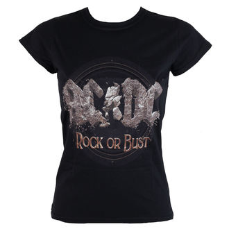 Damen T-Shirt  AC/DC - Rock or Bust - ROCK OFF - ACDCTS34LB