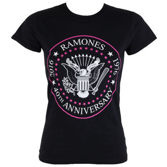 Damen T-Shirt  Ramones - 40th Anniversarry - ROCK OFF - RATS19LB