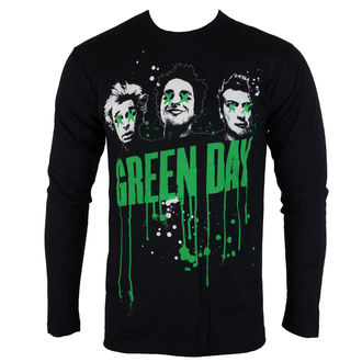 Herren Longsleeve Green Day - Drips - ROCK OFF - GDLS02MB