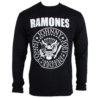 Herren Longsleeve Ramones - Seal - ROCK OFF - RALST01MB