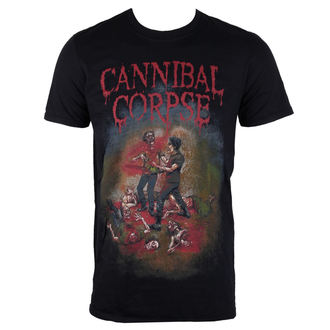 Herren T-Shirt  Cannibal Corpse  - Chainsaw - PLASTIC HEAD, PLASTIC HEAD, Cannibal Corpse