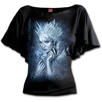 Damen T-Shirt  SPIRAL - Ice Queen - schwarz - L028F719