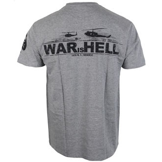 Herren T-Shirt ALISTAR - War is Hell - grau, ALISTAR