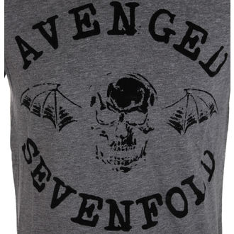 Herren T-Shirt Avenged Sevenfold - Classic Deathbat Acid Wash - ROCK OFF - ASTS19MG