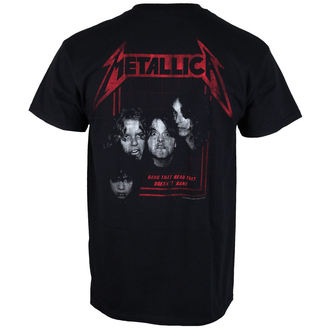 Herren T-Shirt Metallica - Bang Photo - schwarz - ATMOSPHERE - PRO001