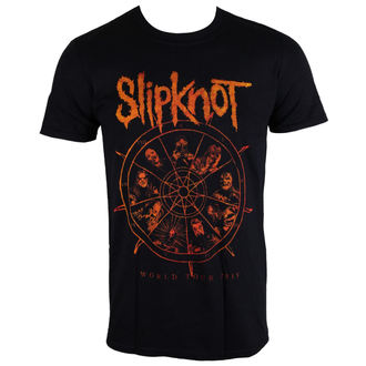 Herren T-Shirt Slipknot - The Wheel - ROCK OFF - SKTS21MB