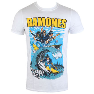 Herren T-Shirt Ramones - Rockaway Beach - ROCK OFF - RATS15MW