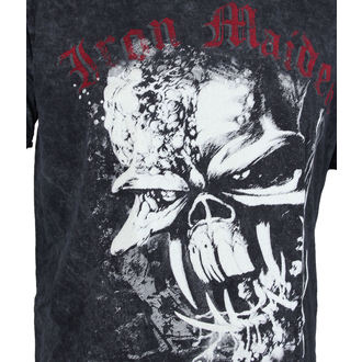 Herren T-Shirt Iron Maiden - FF Eddie Puff Illuminous - ROCK OFF, ROCK OFF, Iron Maiden