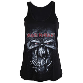 Damen Tanktop Iron Maiden - FF Eddie Distressed - ROCK OFF, ROCK OFF, Iron Maiden
