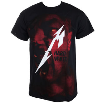 Herren T-Shirt Metallica - Hard Wired Jumbo - ATMOSPHERE - RTMTLTSBHAR