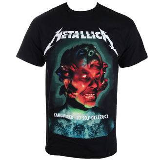 Herren T-Shirt Metallica - Hardwired Album Cover - ATMOSPHERE -  RTMTLTSBHCO