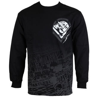 Herren Longsleeve METAL MULISHA - Electric - FA6519005.01_BLK
