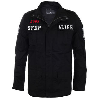 Frühling/Herbst Herren Jacke Five Finger Death Punch - MILITARY - BRAVADO - 19912029