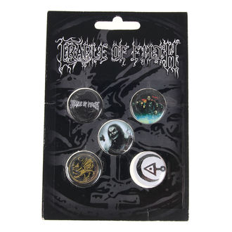 Abzeichen Cradle of Filth - HAMMER OF THE WITCHES - RAZAMATAZ, RAZAMATAZ, Cradle of Filth